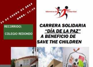 Carrera Solidaria Día de La Paz en el Colegio Carrasco Alcalde de Herencia