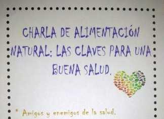 Cartel Charla de Alimentación en Herencia
