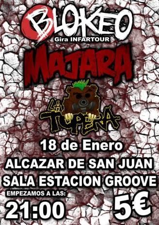 Concierto de Majara en Alc%C3%A1zar 328x465 - Majara actuará en la sala Estación Groove