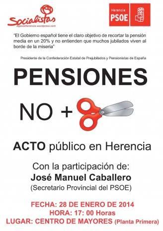 acto pensiones 2014 pensiones Herencia 328x465 - La agrupación socialista organiza un acto informativo sobre pensiones