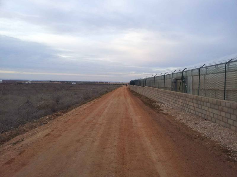 Camino arreglado del término municipal de Herencia