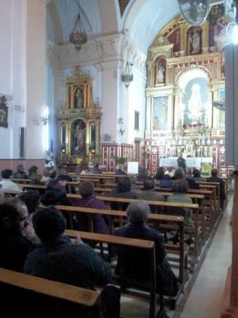 herencia concierto reyes publico convento de La Merced 348x465 - Celebrado el tradicional concierto de reyes