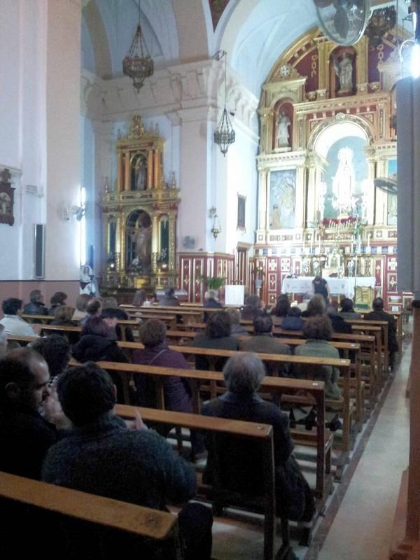 herencia concierto reyes publico convento de La Merced - Celebrado el tradicional concierto de reyes
