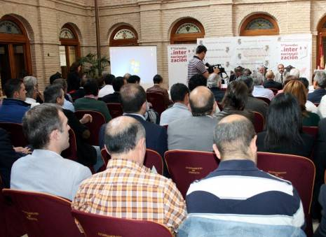 Jornadas de emprendimiento celebradas en 2013 en Herencia