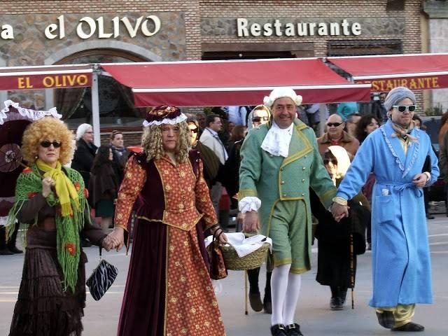 2014 02 24 GM herencia deseosas una - Deseosas, ansiosos y prisilla tomaron las calles para dar la bienvenida al carnaval de Herencia