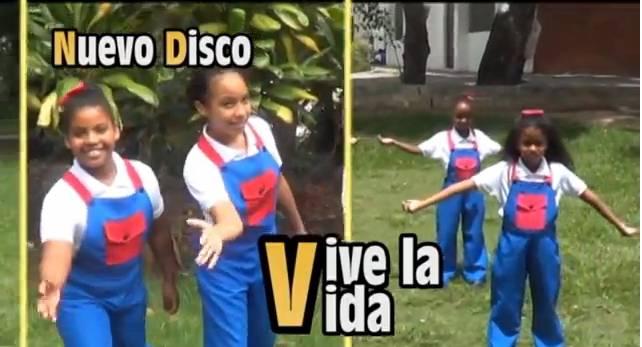 Corito Chichigua nuevo disco Vive La Vida - Actuación del Corito Chichigua en la televisión dominicana