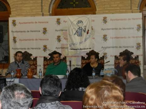 Inauguración de las Segundas Jornadas Culturales del Carnaval de Herencia