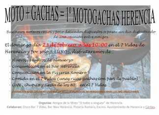 """Concentración motera """"Motogachas"""" de Herencia"""