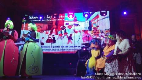 Sábado de los Ansiosos del Carnaval de Herencia 2014