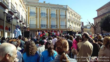 Flashmob del Domingo de las Deseosas del Carnaval de Herencia 2014