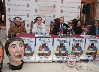 Presentación oficial del programa de actos del carnaval de Hererncia 2014