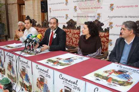 herencia carnaval rueda prensa c1 465x310 - Presentado el programa de actos del Carnaval de Herencia 2014