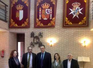 El director general de Administraciones Públicas de Castilla-la Mancha visita Herencia