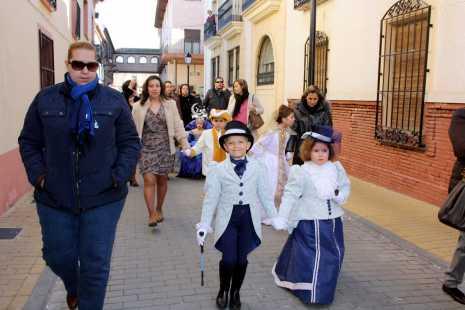 herencia ginetas a 465x310 -  Ansiosos y Deseosas, preparados para dar la bienvenida al Carnaval de Herencia, de Interés Turístico Regional