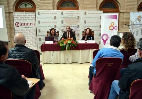 Inauguración Jornada de Emprendimiento en Herencia