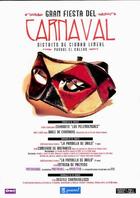 "La chirigota ""Los Pelendengues"" llevan el Carnaval de Herencia a Madrid 1"