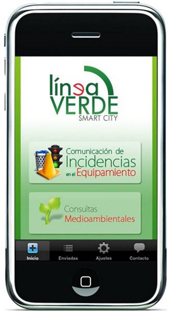 2014 03 18 GM movil inicio herencia linea verde 1 g - Nuevo servicio de consultas medioambientales y comunicación de incidencias sobre el equipamiento urbano