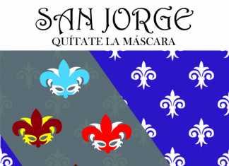 Cartel de la celebración scout de San Jorge en Herencia