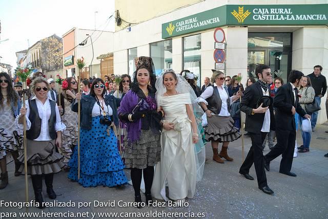 Domingo de las Deseosas 2014 del Carnaval de Herencia