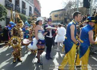 """Grupos participantes en el desfile del Ofertorio """"entrando a ofrecer"""""""
