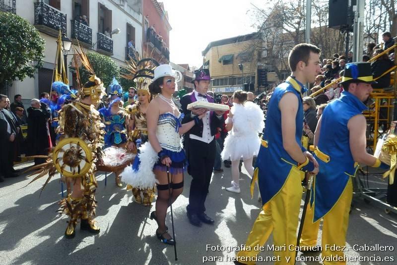 Grupos participantes en el desfile del Ofertorio