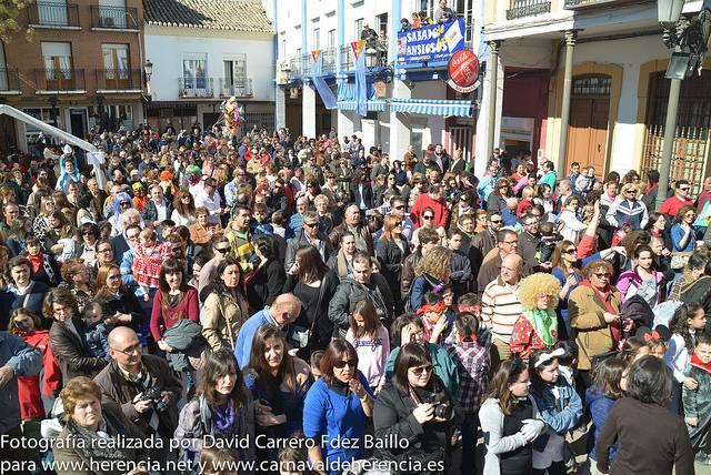 Flashmob del Carnaval de Herencia 2014 - Fotogalería del Carnaval de Herencia 2014. Flashmob infantil y juvenil