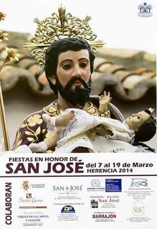 Cartel festejos San José 2014 Herencia