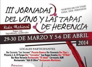 III Jornadas del vino y las tapas de Herencia