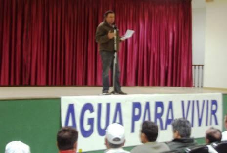 PLATAFORMA AGUA PARA VIVIR 465x313 - El PSOE de Herencia defiende el buen uso de los recursos públicos