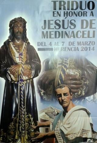 Triduo en honor a Jesús de Medinaceli 318x465 - Triduo en honor a Jesús de Medinaceli