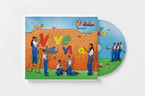 Vive la Vida, ilustración de Jesús Cobos para el segundo disco del Corito Chichigua1