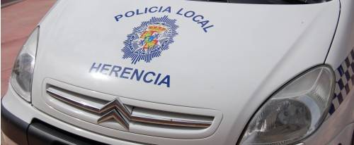 coche de policia local herencia