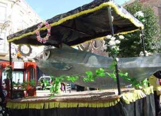 entierro de la sardina del carnaval de herencia 2014