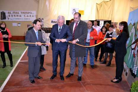 Inauguración de la III Feria del Comercio de Herencia