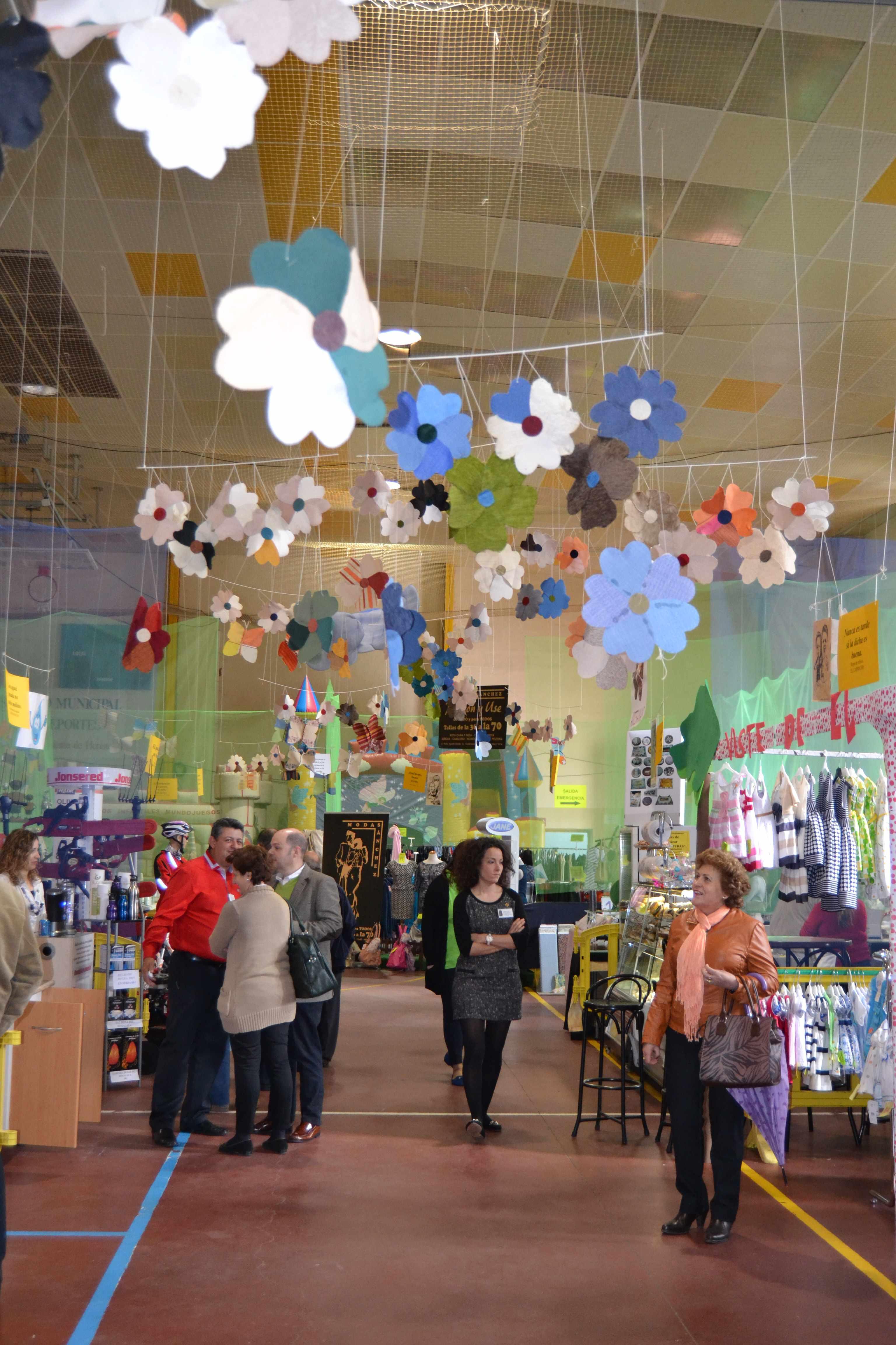 herencia generica pabellon - A concurso el diseño y montaje de la decoración de la IV Feria del Comercio de Herencia
