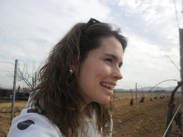 """Laura Díaz-Pavón, presidenta de la asociación de """"Amigos del Vino de Herencia"""""""