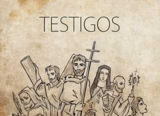 Cartel del X festival vocacional mercedario obra de Jesús Cobos