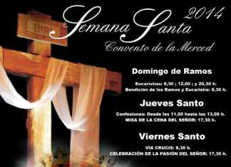 Cultos de Semana Santa en el convento de La Merced