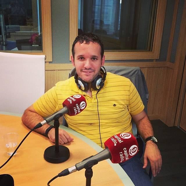 David Carrero Fdez.-Baillo en capital radio