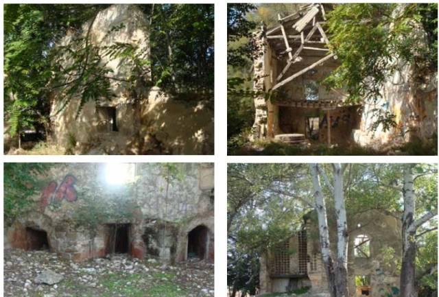 Estado actual del molino de Hernando Díaz (Rondadías) – Captura del libro Ciudad Real tierra de Molinos de Agua obra de Domingo Melero