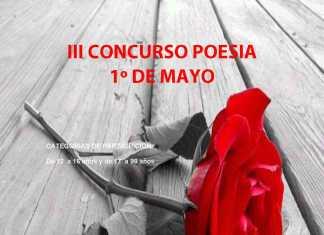 Herencia cartel concurso poesia primero de mayo psoe