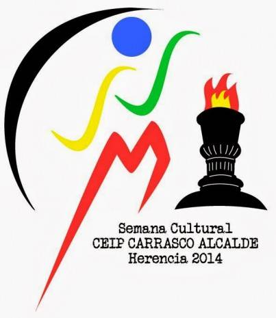 Logo Semana cultural 2014 del Colegio Carrasco Alcalde de Herencia