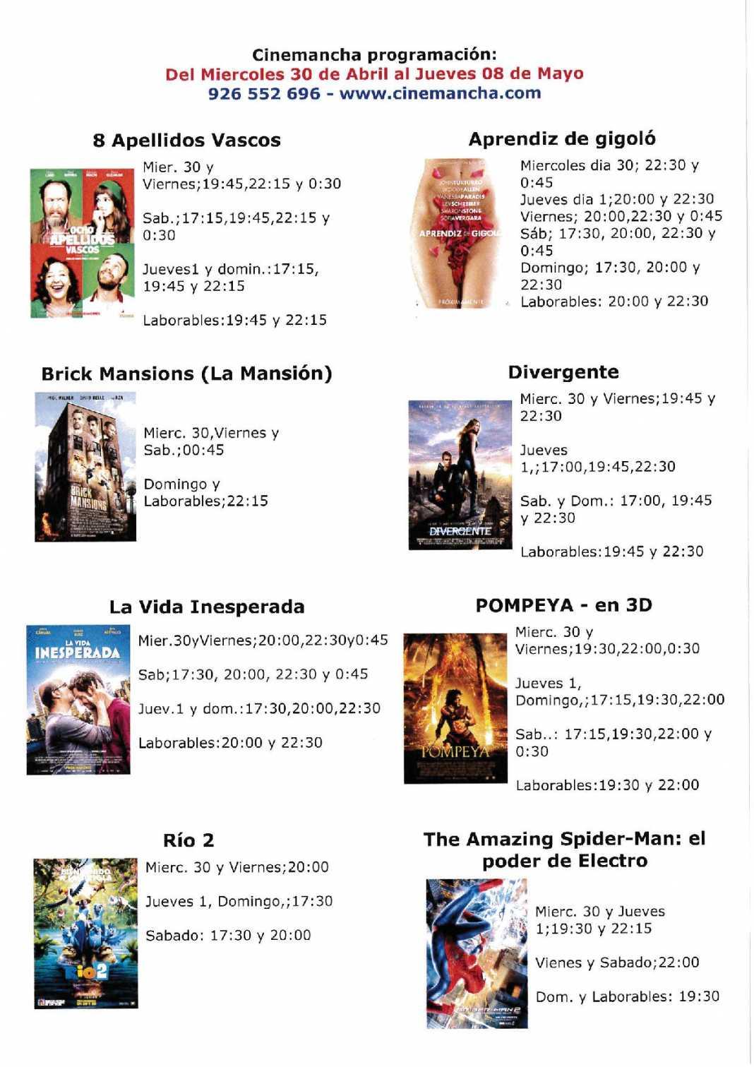 MX 2310U 20140429 122130 1068x1511 - Programación Cinemancha del Miércoles 30 de abril al Jueves 8 de mayo