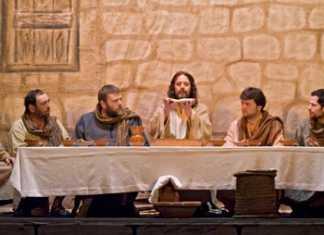 Momento de la representación de La Pasión fotografía extraída de http://www.lapasiondramatizada.es/