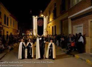 Procesión del Silencio de la Semana Santa de Herencia 2014