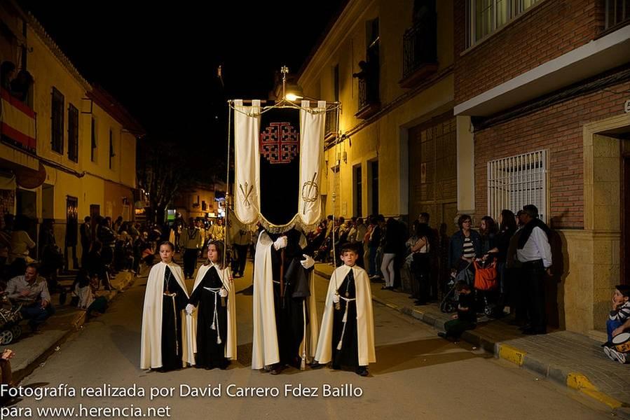 Procesión del Silencio de la Semana Santa de Herencia 2014 - Fotogalería de Semana Santa. Procesión del Silencio del Jueves Santo