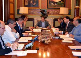 Consejo de Administración (2014) de la empresa de gestión de aguas EMASER