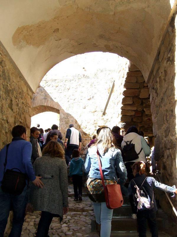 Visita al castillo de Consuegra con motivo del 775 aniversario de la Carta Puebla de Herencia