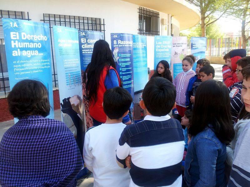herencia dia agua 3 - El colegio Carrasco Alcalde celebra el Día Mundial del Agua