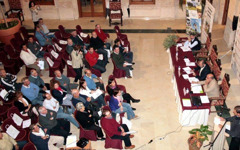 Foto de archivo de una de las jornadas de agricultura organizadas por el Ayuntamiento de Herencia